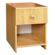Nočný stolík 1-zásuvkový