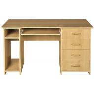 Písací stôl 4-zásuvkový