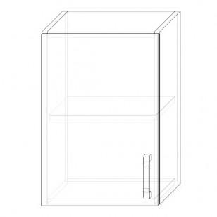 35. H40 – skrinka horná 1-dverová 400 P+Ľ