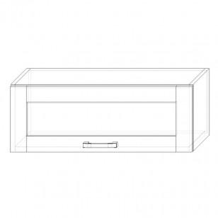 51. H80VS – skrinka horná 1-dverová 800 výklopná presklená