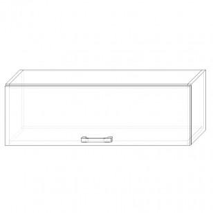 56. H90V – skrinka horná 1-dverová 900 výklopná