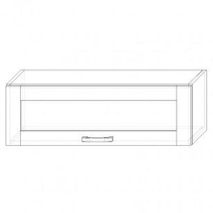 57. H90VS – skrinka horná 1-dverová 900 výklopná presklená