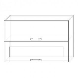 58. H90-2dv-V – skrinka horná 2-dverová 900 výklopná
