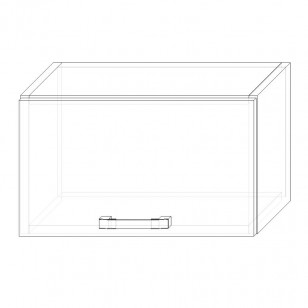 61. H50V-Dig. – skrinka horná 1-dverová 500 výklopná