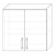 73. H60Dig - skrinka horná 2-dverová 600