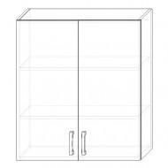 114. H80 – skrinka horná 2-dverová 800
