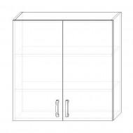 120. H90 – skrinka horná 2-dverová 900